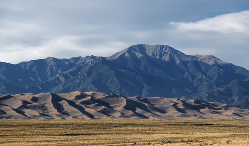 Great Sand Dunes and Mount Herard (Great Sand Dunes National Park & Preserve)