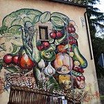 Quadraro: Piazza Tribuni; Carlos Atoche - https://www.flickr.com/people/82911286@N03/