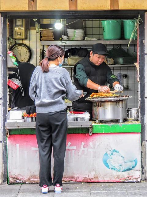 Jianbing guozi stall