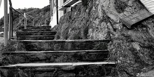 Decaying Steps. Polperro. Sept 2020