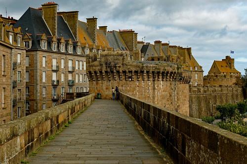 Saint-Malo / Remparts /  Grand' Porte