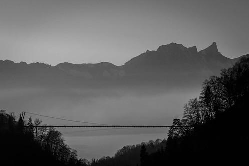 The mountain and the Bridge