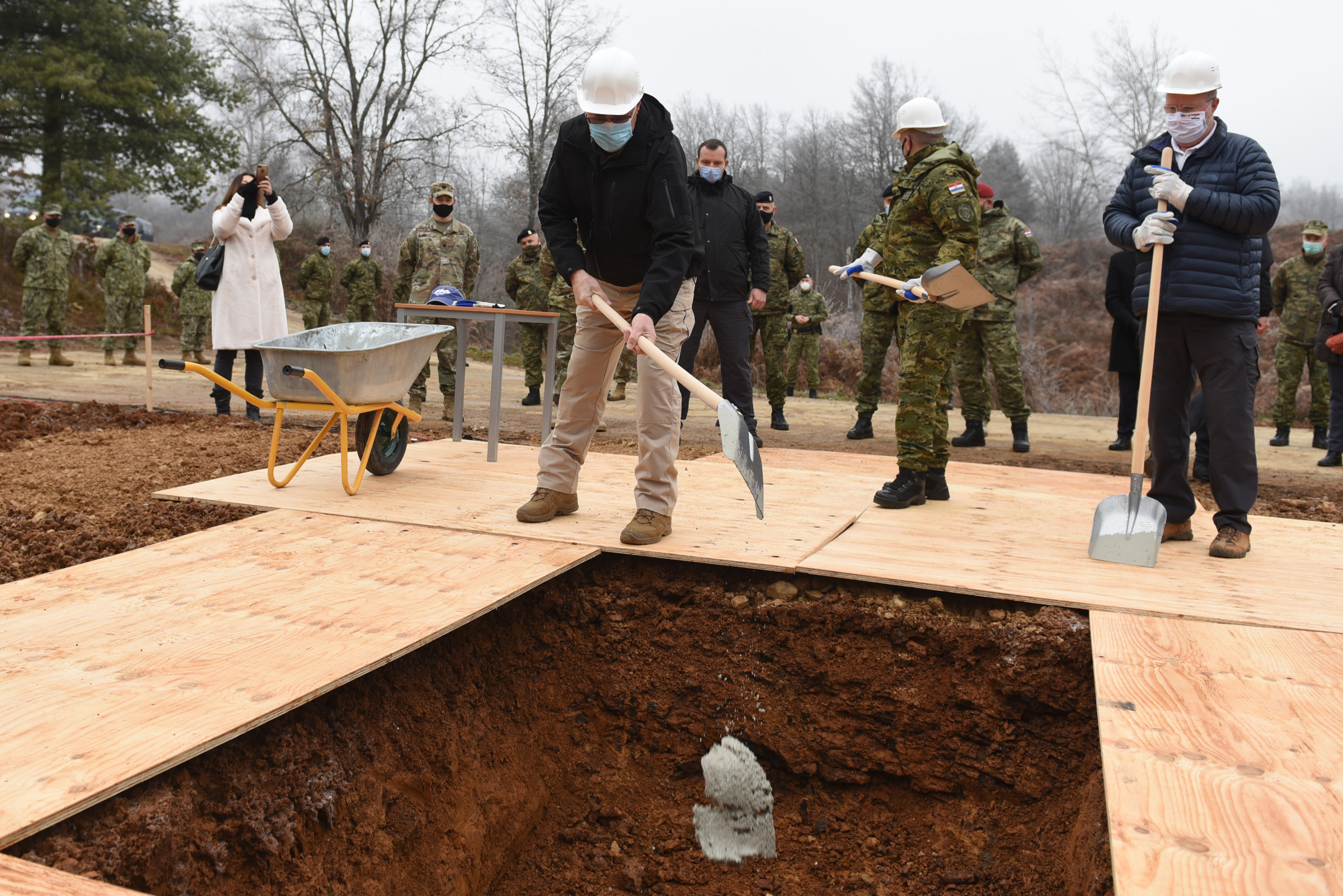 Položen kamen temeljac vojne ambulante