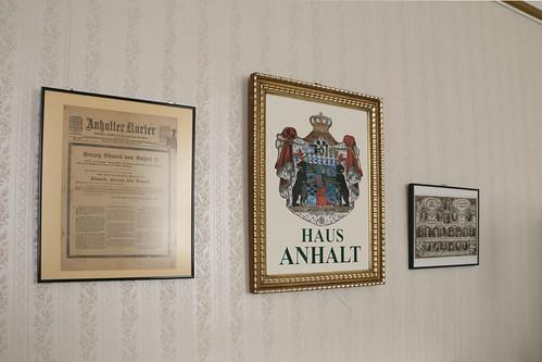 Ballenstedt, Ausstellung im Schloss
