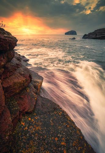 Bass Rock glow