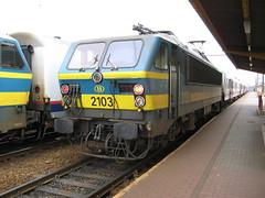 Mouscron: La gare de Mouscron (Hainaut)
