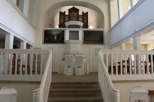 Ballenstedt, Schlosskirche über der Krypta der alten Klosterkirche, heute Standesamt
