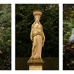Anglesey Abbey Statues by Rob Draper