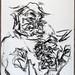 2009.01-2009.12[10] Shanghai Sanlintang Studio Pastel on paper 上海三林塘工作室 纸上炭精条-77
