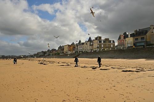 Saint-Malo / Bretagne / Plage du Sillon
