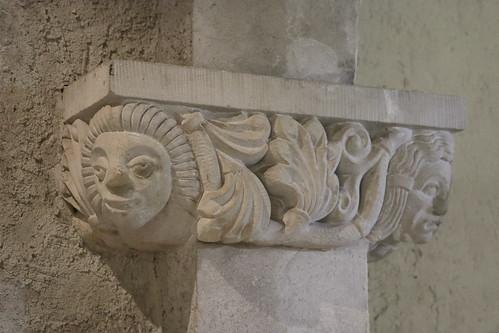 Ballenstedt, Schloss, Kapitell
