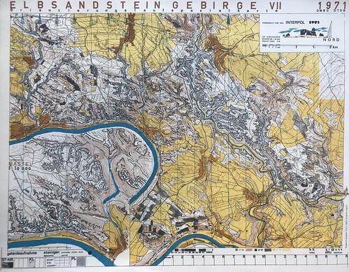 Elbsandsteingebirge VII 1971