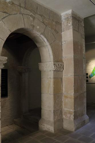 Ballenstedt, Schloss, an der Grablege