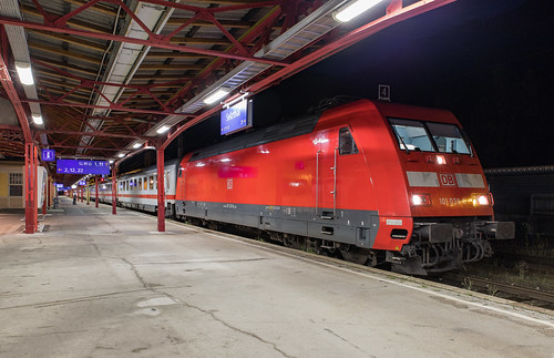 DB 101 039 en EC 219 van München Hbf naar Graz Hbf. Selzthal