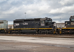 Illinois Central IC 6204 (SD40-2) Memphis, Tennessee