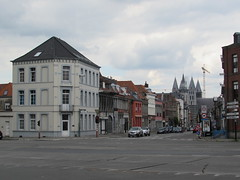 Tournai: Intersection of Rue Saint-Martin and Boulevard Bara / Boulevard Lalaing (Hainaut)