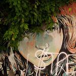 Via Casilina Vecchia: Murale di Alice Pasquini - https://www.flickr.com/people/82911286@N03/