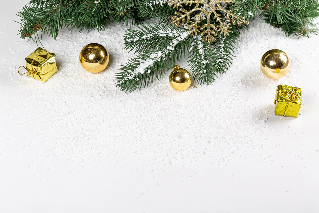 New year festive background with free space