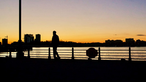 Sunset - Hudson River Park, New York City