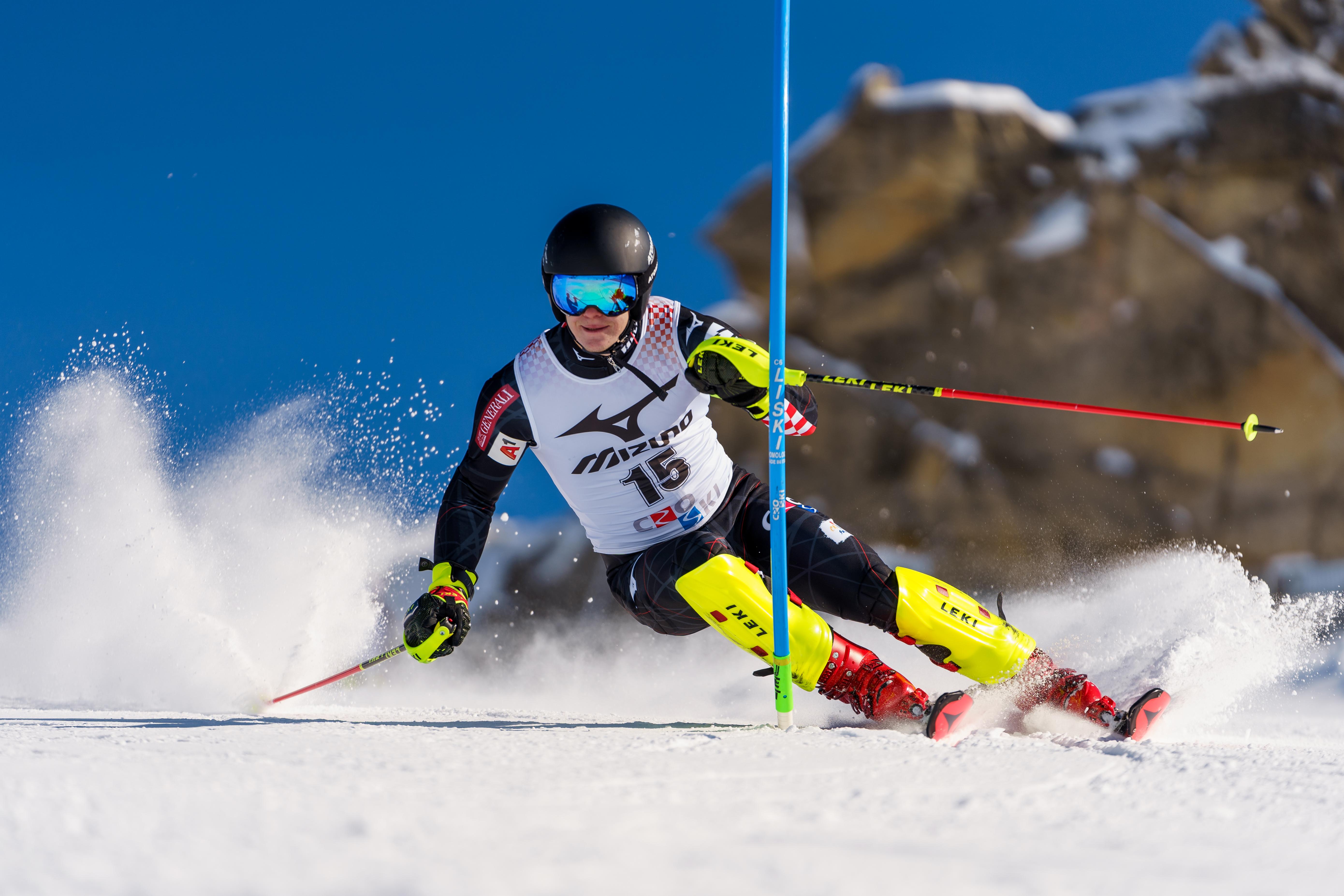 Filip Zupčić, alpski skijaš pripadnik Vrhunskih sportaša u HV