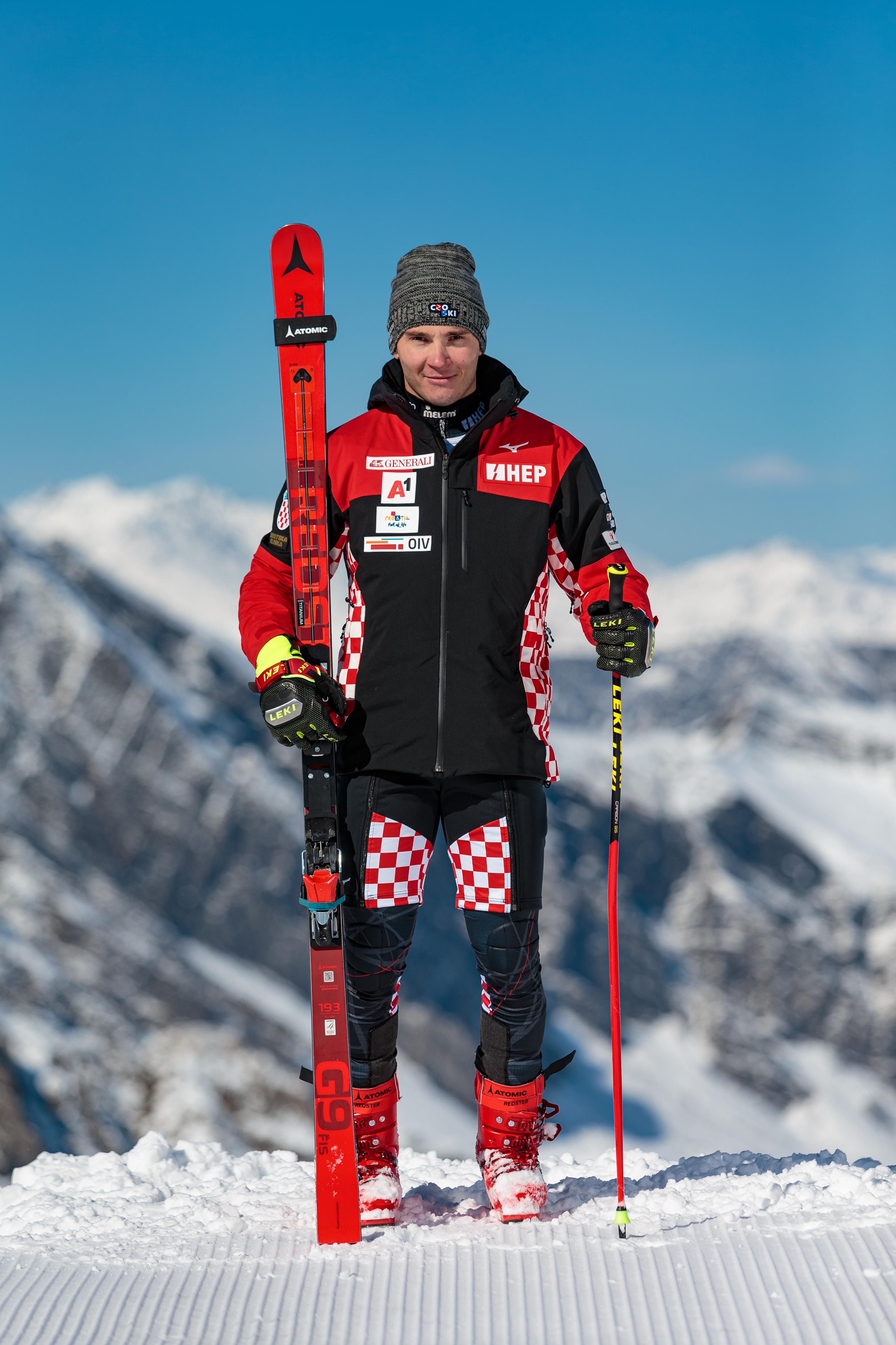 Istok Rodeš, alpski skijaš pripadnik Vrhunskih sportaša u HV