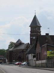 Achiet-le-Grand: L'église Saint-Jean-Baptiste (Pas-de-Calais)