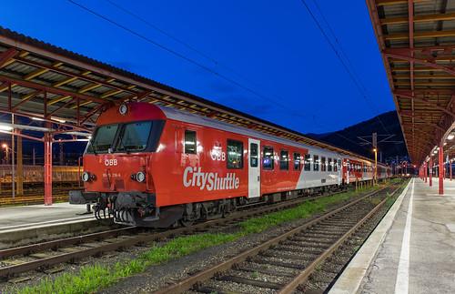 ÖBB 80-73 218 CityShuttle. Selzthal