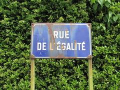 Achiet-le-Grand: Rue de l'Égalité (Pas-de-Calais)