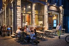 Outdoor dining - pre-corona