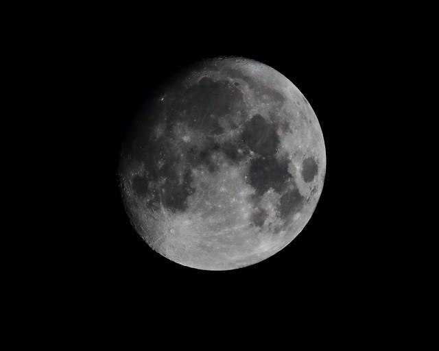 Moon (Waxing gibbous)