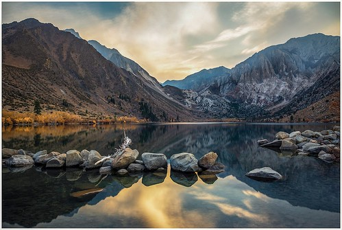 Convict Lake at Sunset