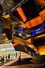 Urban Jewel - Me & The Vessel at Night Hudson Yards Manhattan New York City NY P00725 DSC_2664