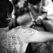 Thai sacred tattoo (Sak Yant)