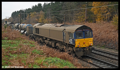 No 66426 & No 66428 Carlisle Eden Mind 25th Nov 2020 Belstead