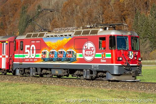 Rhätische Bahn (RhB), 617 : 50 Jahre LGB
