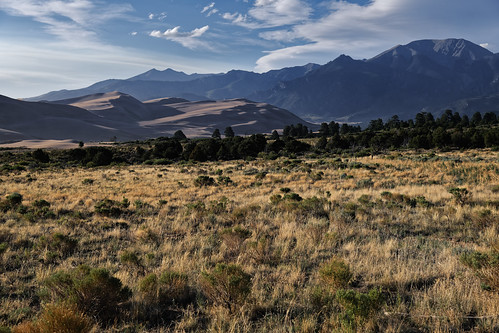 Standing in Place and Feeling the Wind Blow By (Great Sand Dunes National Park & Preserve)