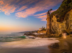 Laguna Beach Sunset Victoria Beach Castle Fuji GFX100 Fine Art Landscape Nature Photography California Seascape Ocean Art! Elliot McGucken Master Medium Format Nature Photographer Fuji GFX 100 & FUJIFILM  FUJINON GF 32-64mm f/4 R LM WR Lens !