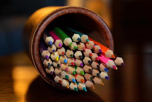 Pot de crayons de couleurs_1968