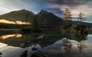 Hintersee sunrise