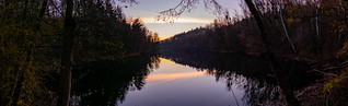 Sunset at the Schluchtsee