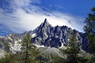 Aiguille des Drus, Mer de Glace, Chamonix-Mont-Blanc