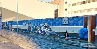 Sauchiehall St Glasgow mural