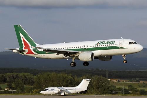 Alitalia A320-216 EI-EIA GRO 16/08/2020