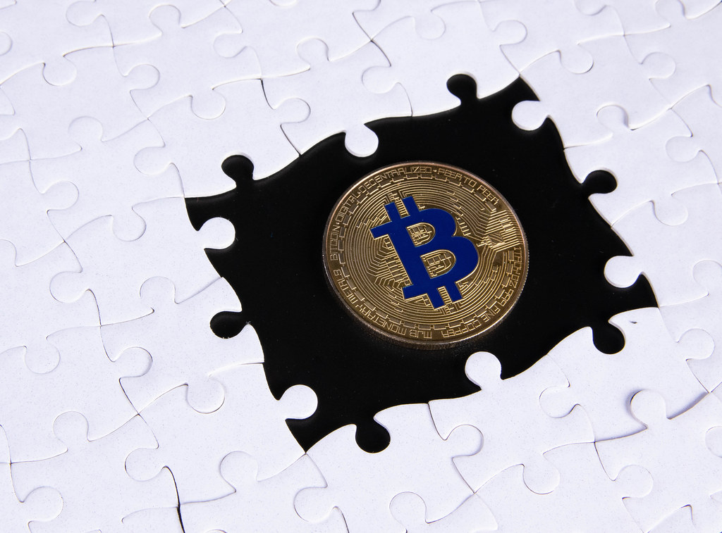 Missing puzzle pieces and Bitcoin coin