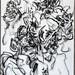 2009.01-2009.12[10] Shanghai Sanlintang Studio Pastel on paper 上海三林塘工作室 纸上炭精条-86