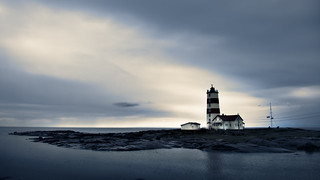 A storm is coming — lighthouse