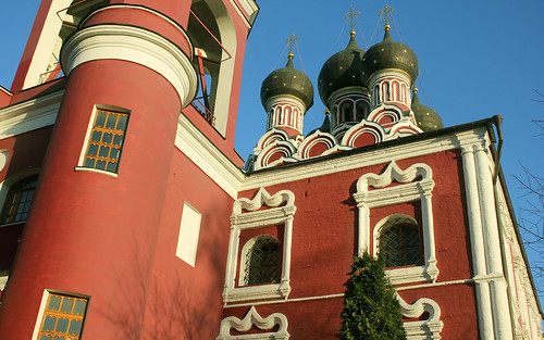 Russian Federation, Holy Moscow, the Church of the Tikhvin Icon of the Mother of God in Alexeyevskoye, Mira Avenue, Alexeyevsky district. Православнаѧ Црковь.