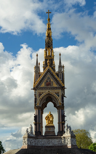 The Albert Memorial - Hyde Park, London