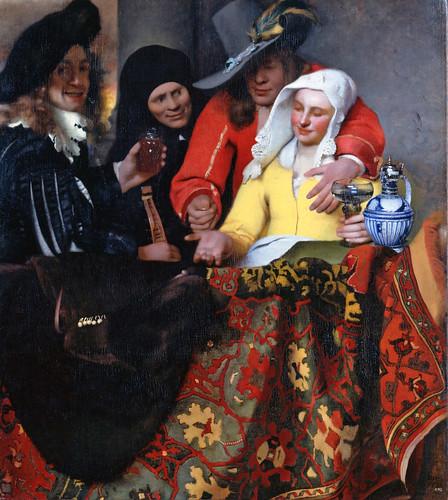 Jan Vermeer, Bei der Kupplerin - The procuress