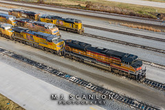 UP 1996 | EMD SD70ACe | UP Marion Intermodal Railport